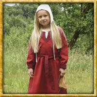 Wikingerkleid für Kinder - Rot/Weinrot