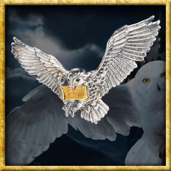 Harry Potter - Brosche Hedwig