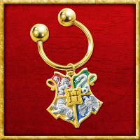 Harry Potter - Hauswappen Schlüsselring Hogwarts