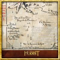 Der Hobbit - Thorins Karte zum Erebor