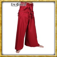 Samurai Hose - Rot/Schwarz
