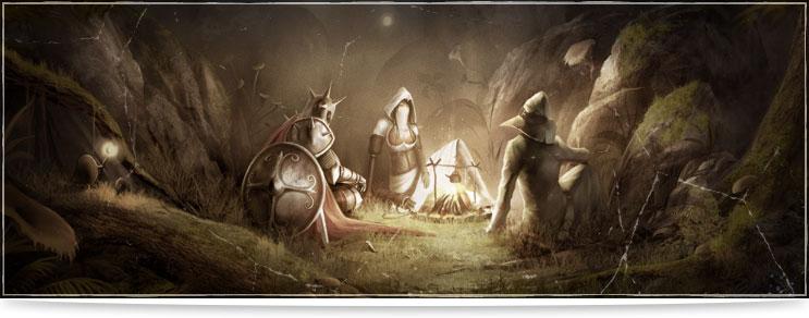 Mittelalter Lagerleben, Feuer, Geschirr, Schmiedewaren & mehr   Drachenhort