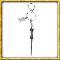 Harry Potter - Metall Schlüsselanhänger Zauberstab