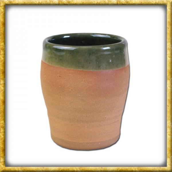 Hochmittelalterlicher Weinbecher aus Ton - 0,2 Liter