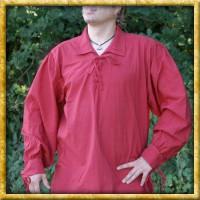 Spätmittelalterhemd - Rot