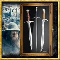 Der Hobbit - Brieföffner Set Schwerter