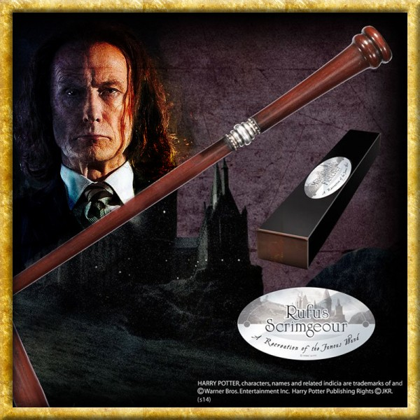 Harry Potter - Zauberstab Rufus Scrimgeour Charakteredition