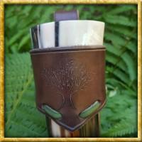 Trinkhornhalter Keltischer Baum bis 500ml - Braun