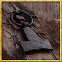 Geschmiedeter Thorshammer aus Stahl
