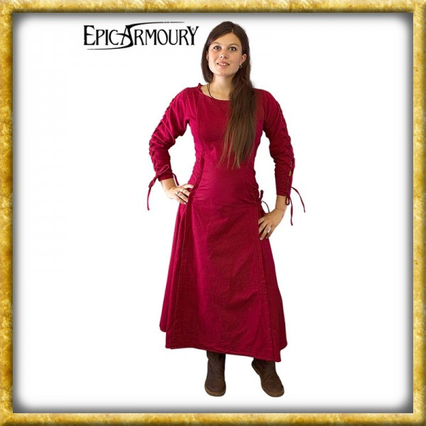Kleid Priestress - Rot