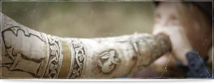 Mittelalter Rufhörner   Drachenhort