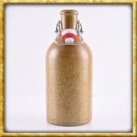 Tonflasche mit Bügelverschluss - 0,5 Liter
