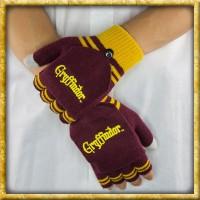Harry Potter - Fingerlose Handschuhe Gryffindor