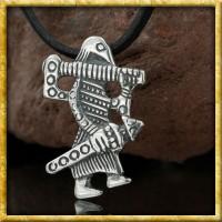 Wikinger Anhänger Klahammar aus Silber