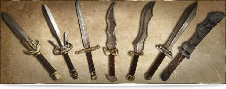 LARP Kurzschwerter | Drachenhort