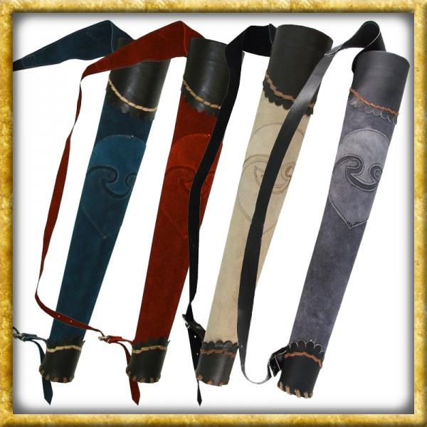 LARP Köcher Archer aus Leder - Verschiedene Farben