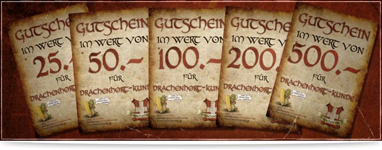 Gutscheine für Mittelalter & Fantasy | Drachenhort