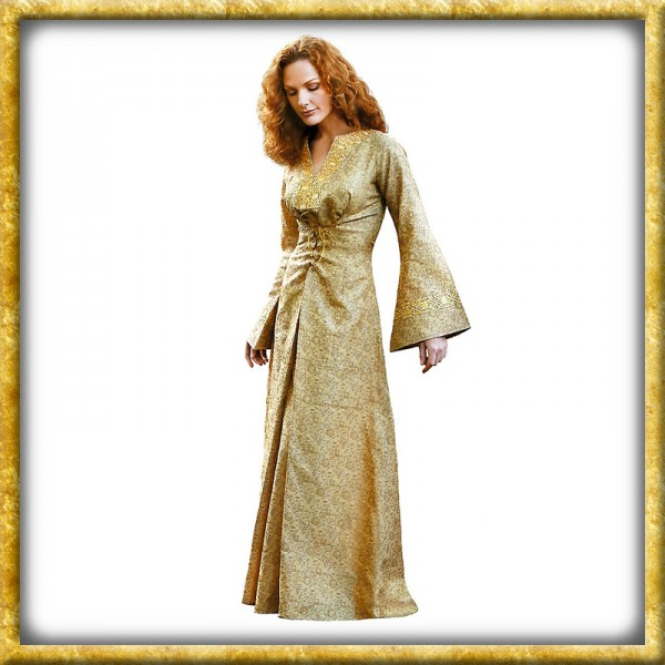 Kleid - Goldfarben