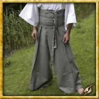Samurai Hose - Grau/Schwarz