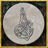 Schamanen Rahmentrommel - Celtic Wolf