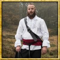 Mittelalter Piratenhemd - Weiss