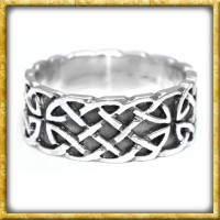 Keltischer Ring aus Silber - Unendlichkeit