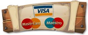 Kreditkarte oder Debitkarte