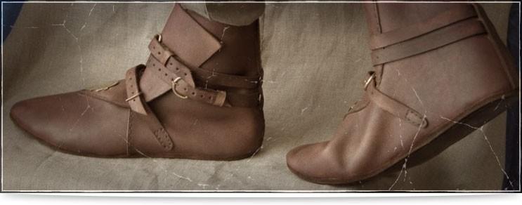 Mittelalter Schnallenschuhe & Stiefel | Drachenhort