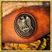 Lederarmband - Römischer Legionsadler Aquila