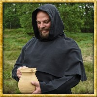 Mönchskutte Benedikt - Schwarz