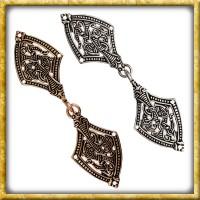 Wikinger Gewandschliesse Borrestil - Bronze oder Silber