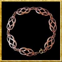 Armkette mit keltischen Knoten aus Bronze