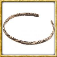 Schmaler Armreif aus Bronze