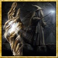 Der Hobbit - Beleuchteter Stab von Gandalf